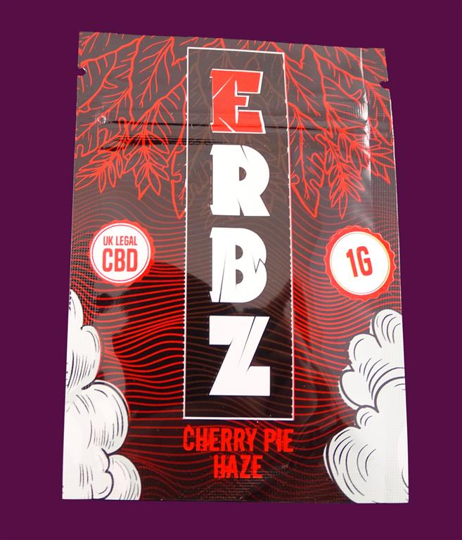 (21) ERBZ - Cherry Pie Haze 1G - 200mg CBD